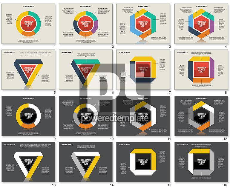 Flat Design Shapes Toolbox