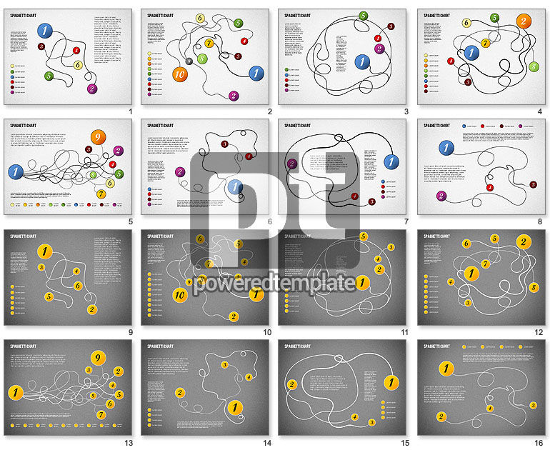Spaghetti Diagram For Powerpoint Presentations Download Now 01920