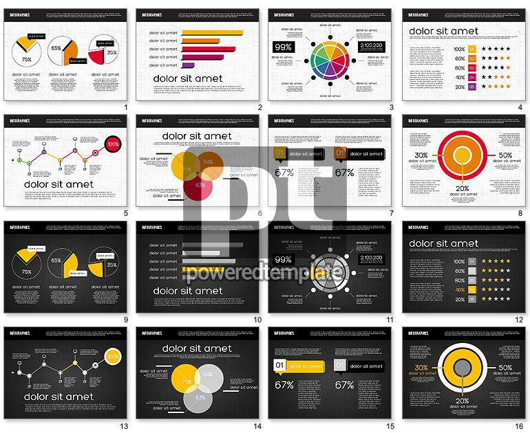 Diagrams Tool Kit in Flat Design