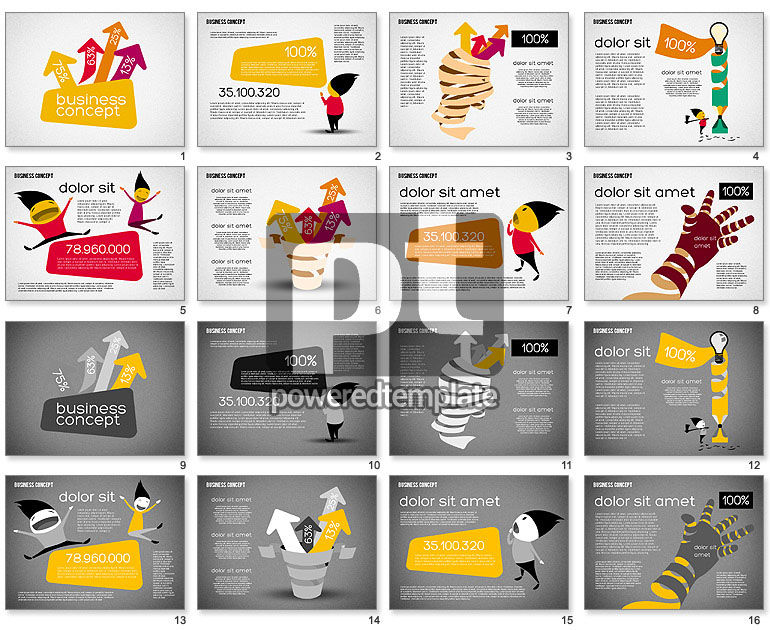 Creative Business Concept Shapes