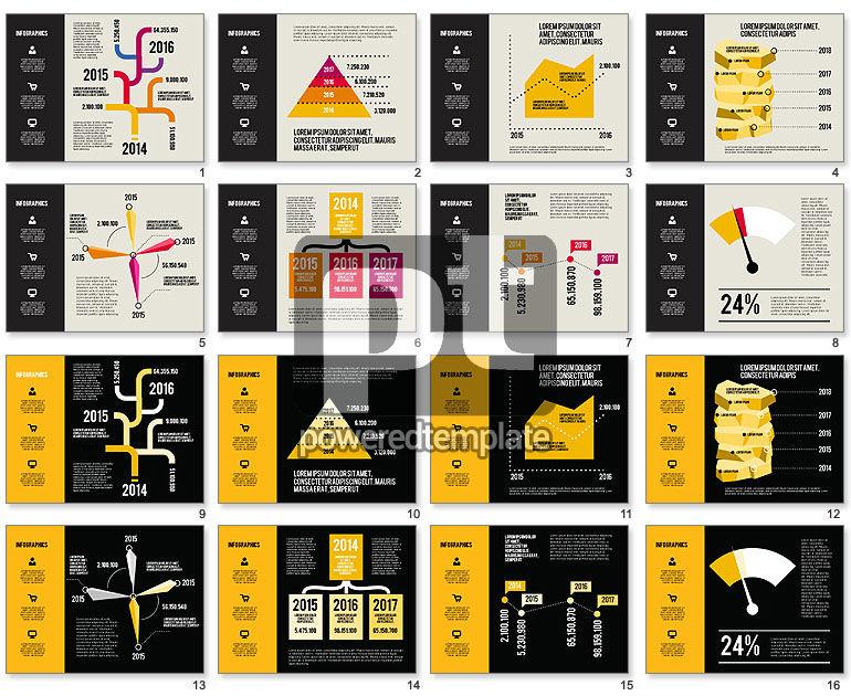 Infographics Charts Set