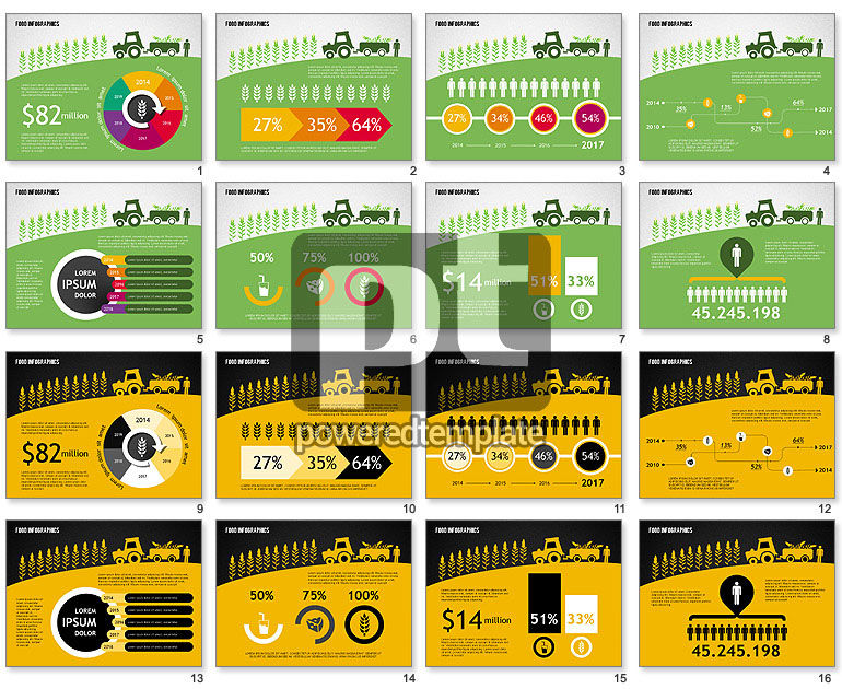 agriculture infographics for powerpoint presentations