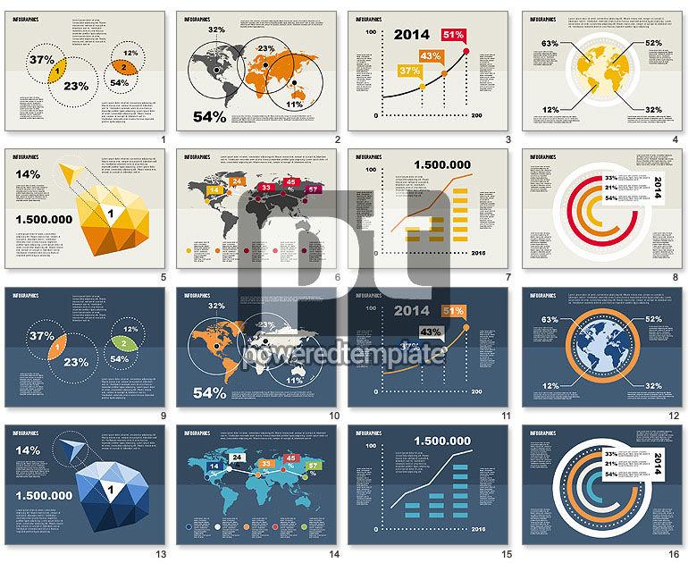 World Figures Infographics