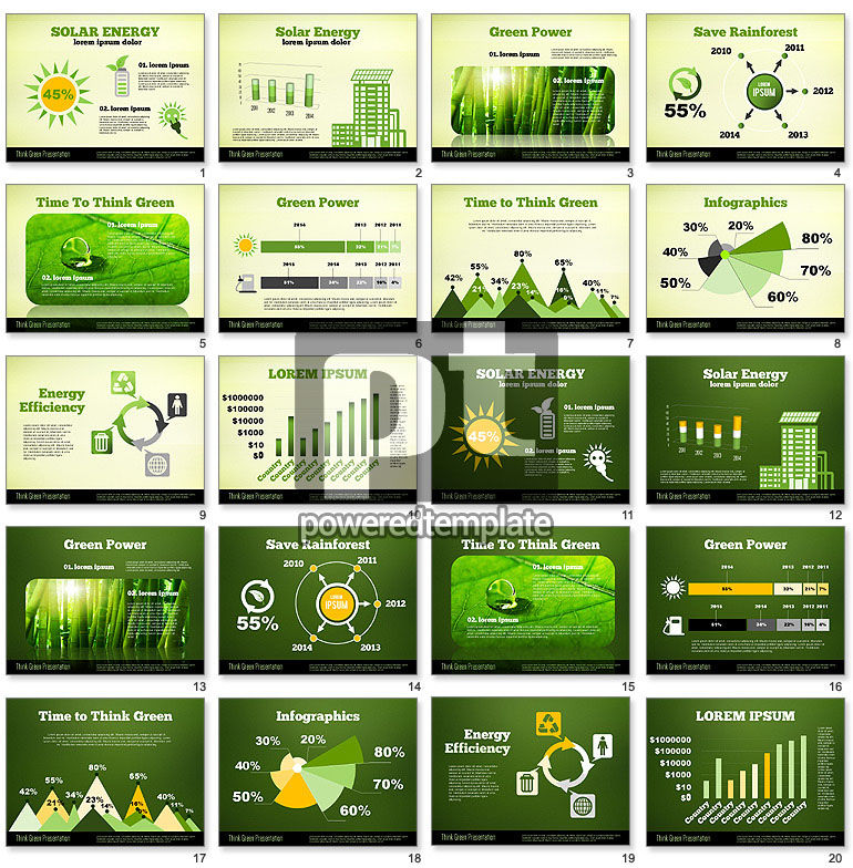 Think Green Presentation Template