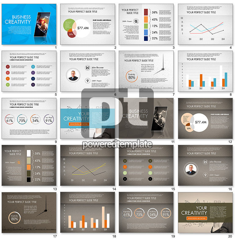 Business Creativity Presentation Template
