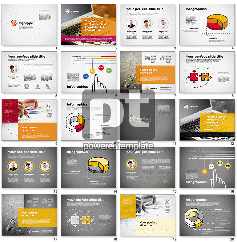 Intelligence Presentation Template