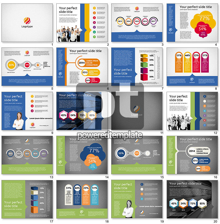 Company Results Presentation Template