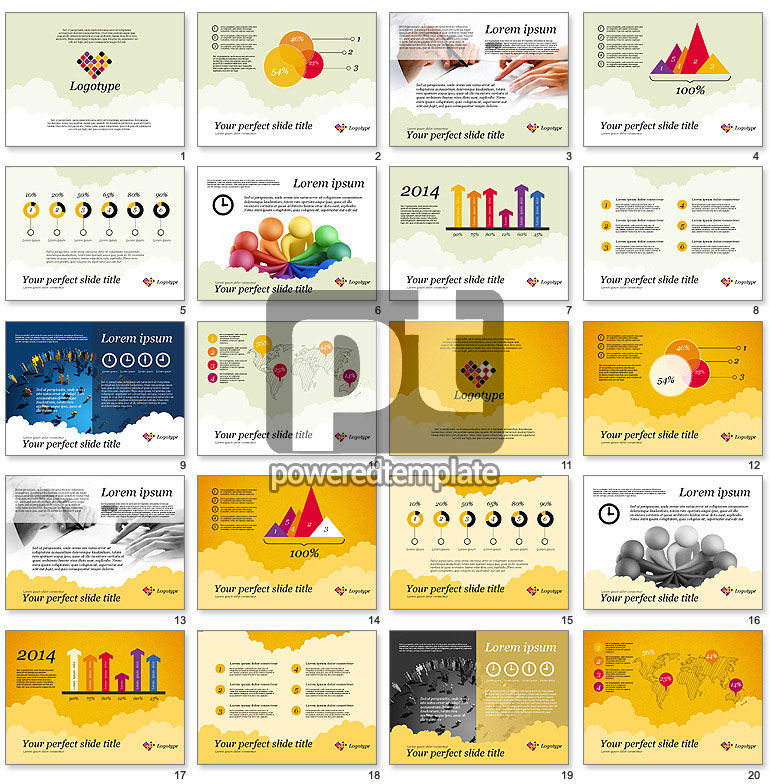 kickoff meeting presentation template for powerpoint presentations, Kickoff Presentation Template, Presentation templates