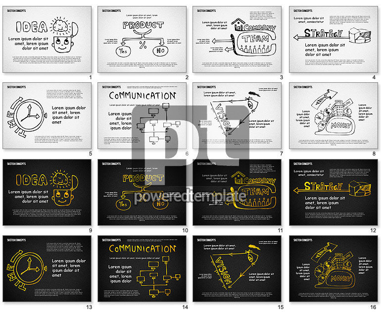 From Idea to Money Presentation Template