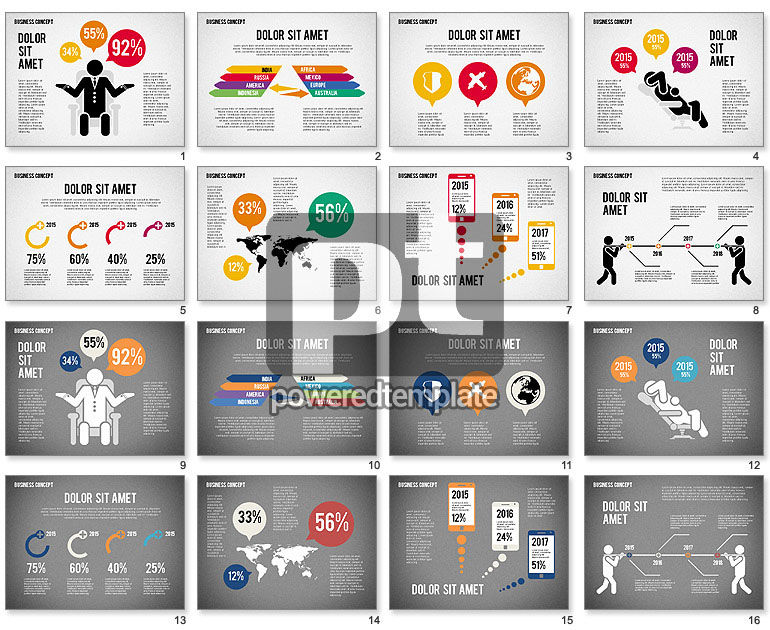 Business Infographic Toolbox