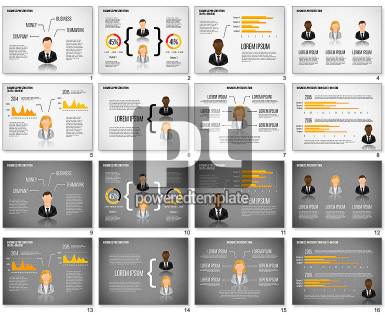 Staff Presentation Template