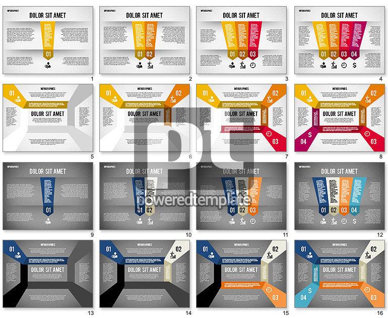 Folded Banner Infographics