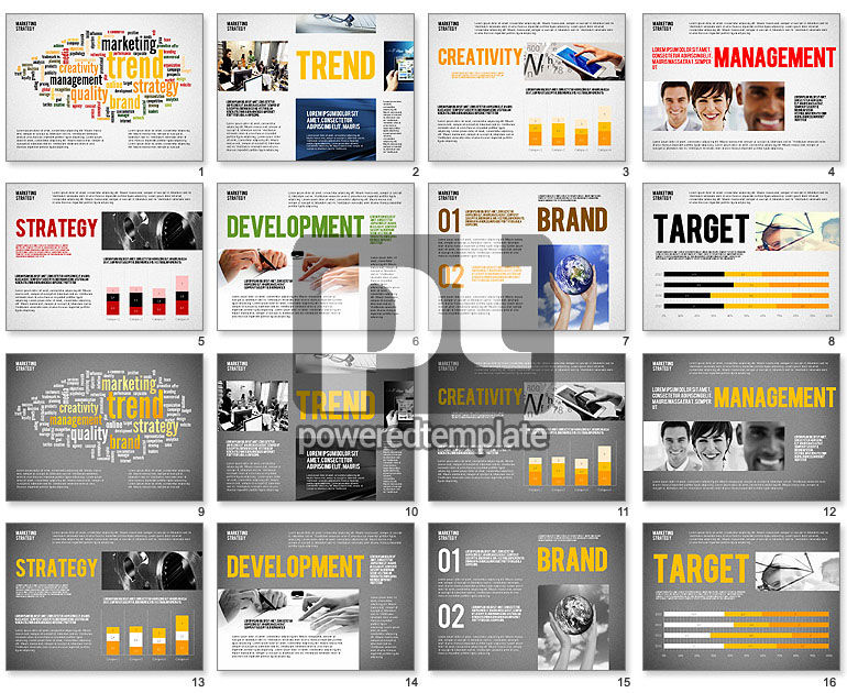 Marketing Strategy Presentation Template