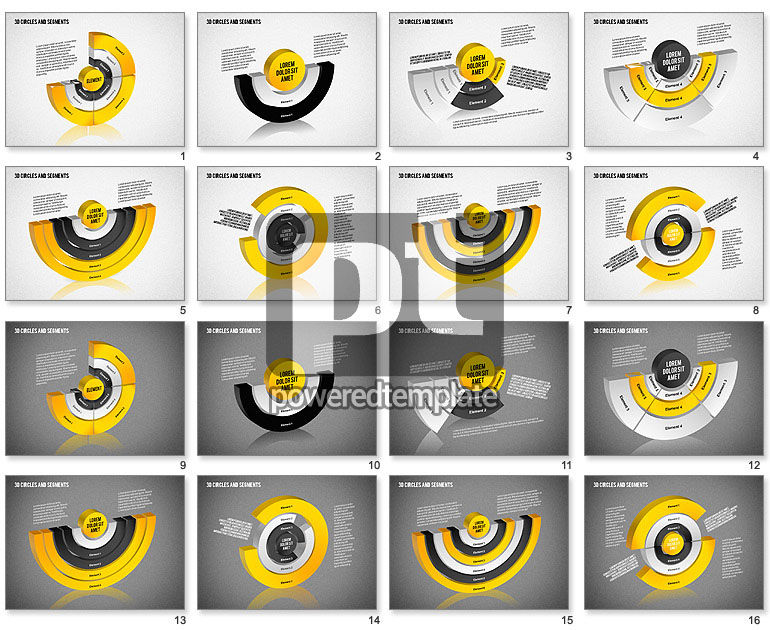 3D Circles and Segments Toolbox