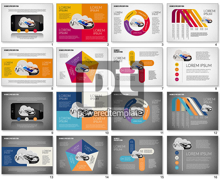 Colorful and Stylish Presentation Template