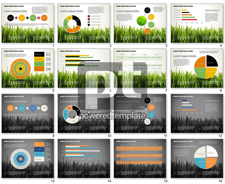 Data Driven Business Presentation Template