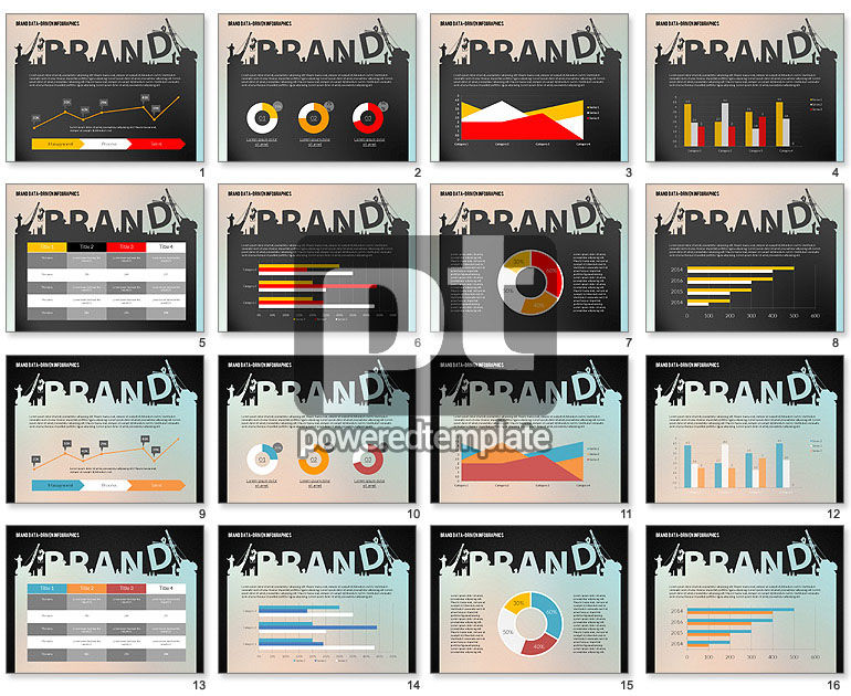 Building Brand Presentation Template (data driven)