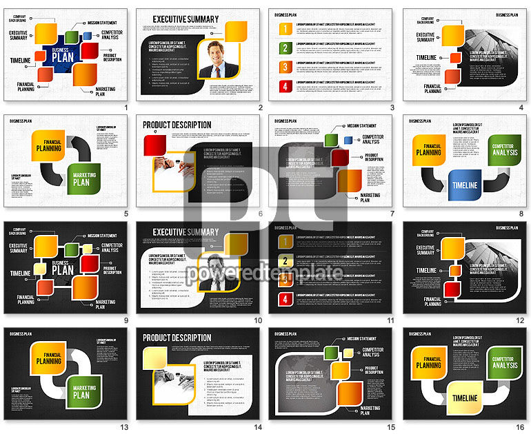 Business Plan Creative Presentation Template