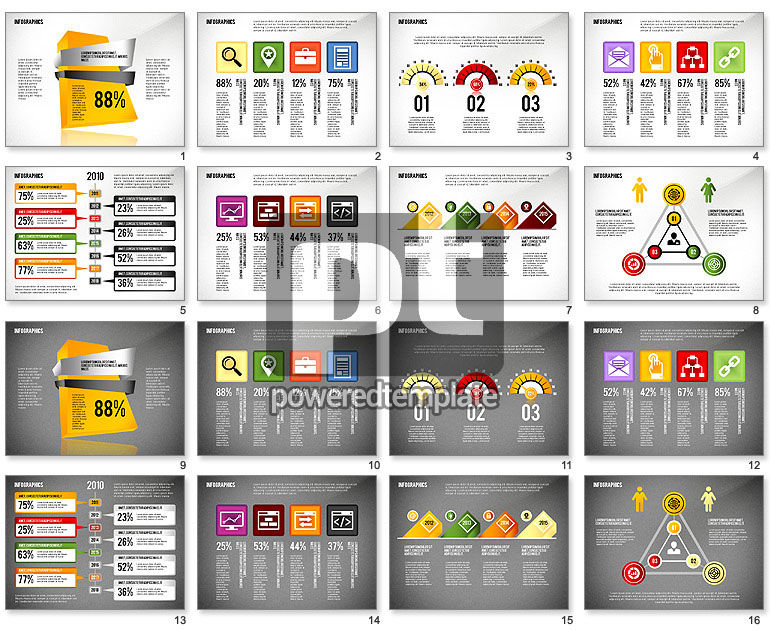 Infographics with Icons Toolbox