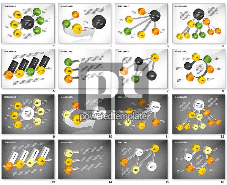 3D Circles Charts