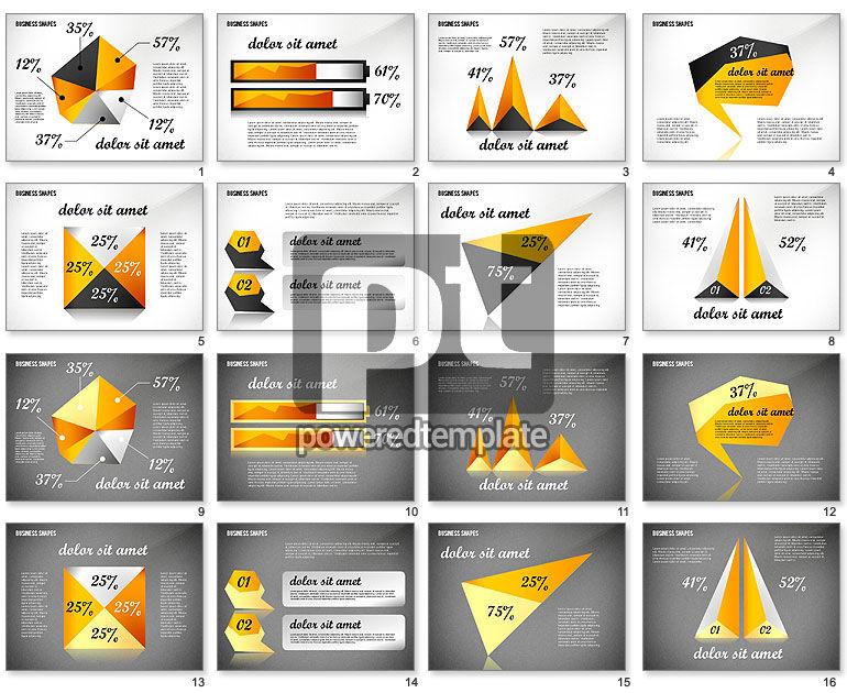 Geometrical Business Shapes