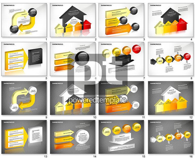 3D Process Arrows Toolbox