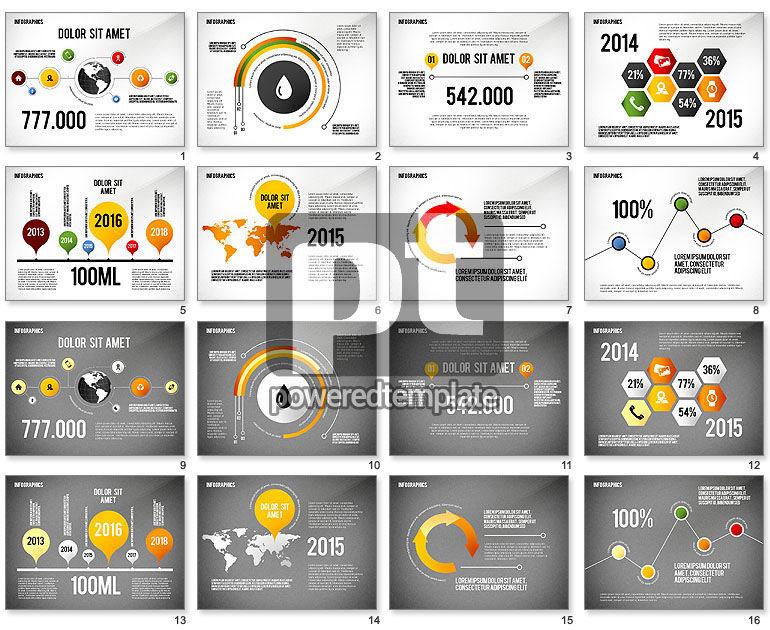 Infographics with Globe