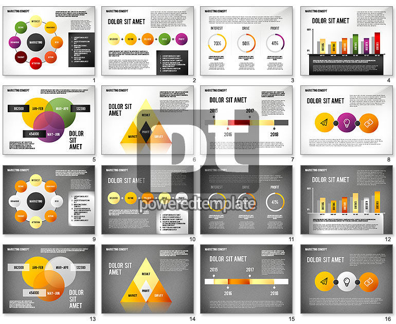 marketing presentation template for powerpoint presentations, Powerpoint templates