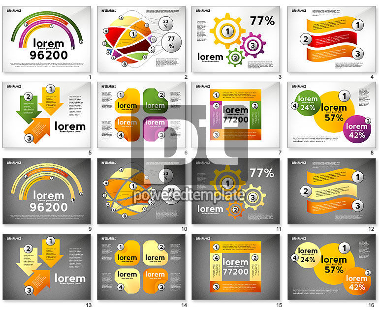Colorful Infographic Banners