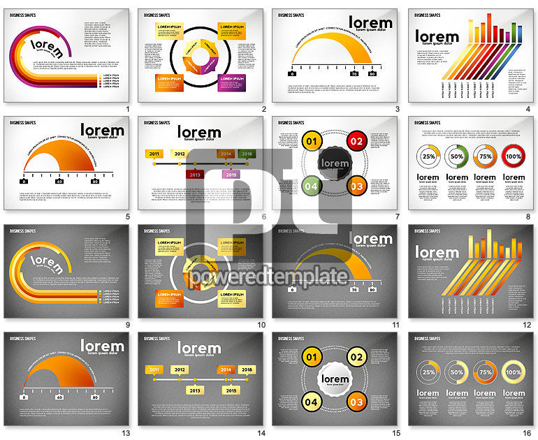 Infographics Diagrams Toolbox