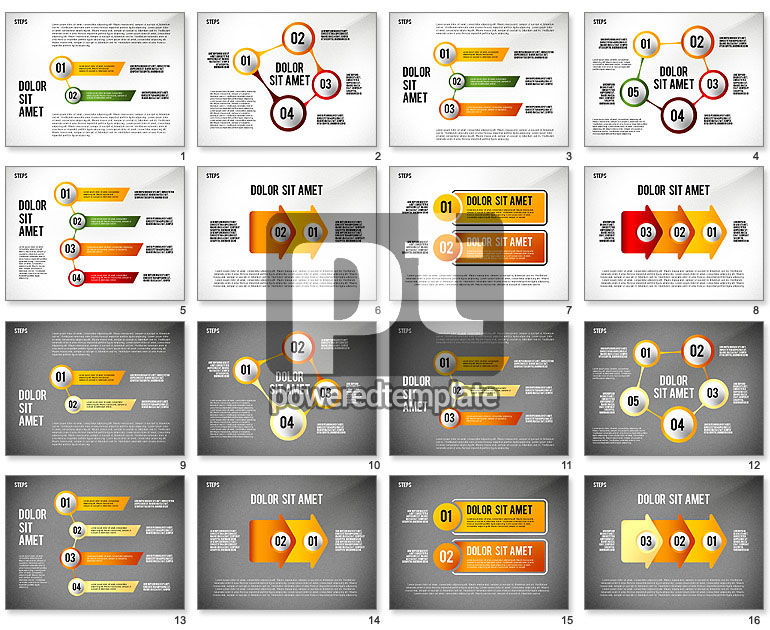 Staged Diagrams Collection