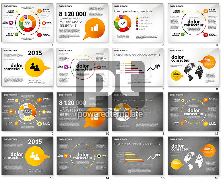 Presentation in Inforgraphics Style