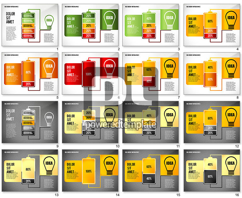 Idea Energy Infographics