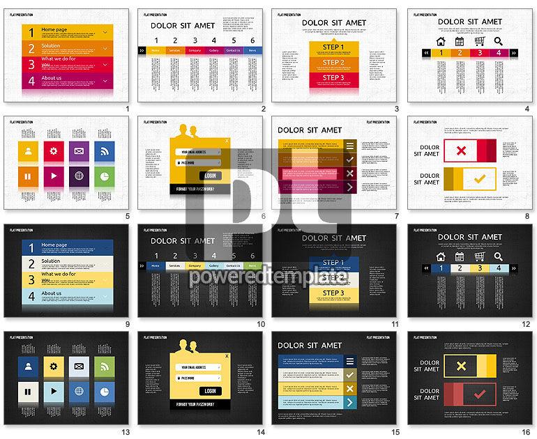 Flat Presentation Toolbox