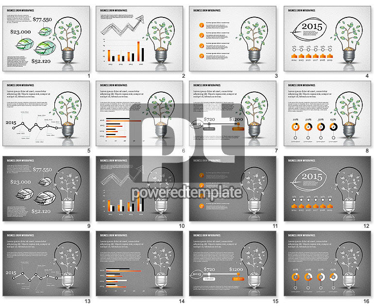 Business Growth Concept Presentation Template