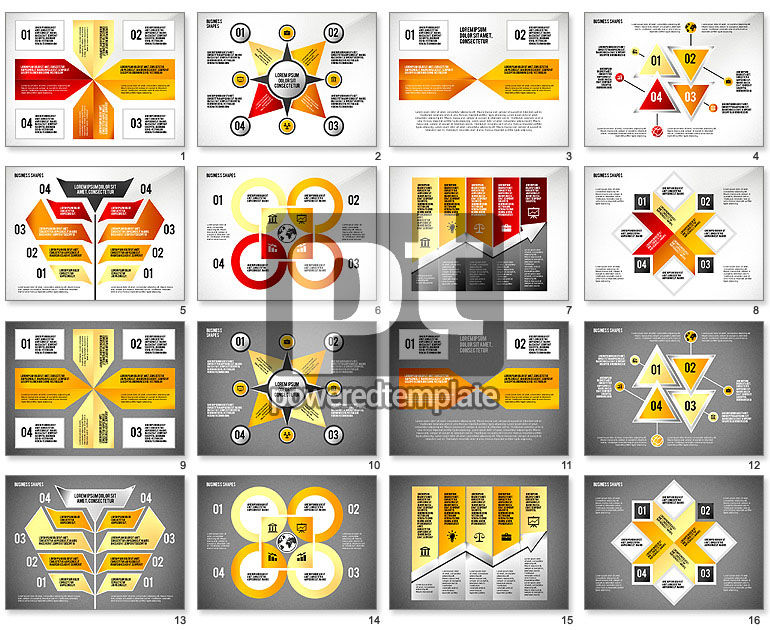 Presentation Shapes and Diagrams Toolbox