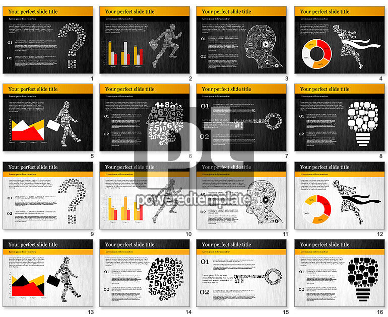 Creative Business Presentation Template For Powerpoint