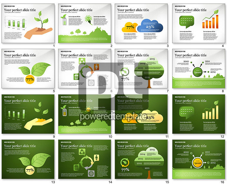 Green Presentation Template