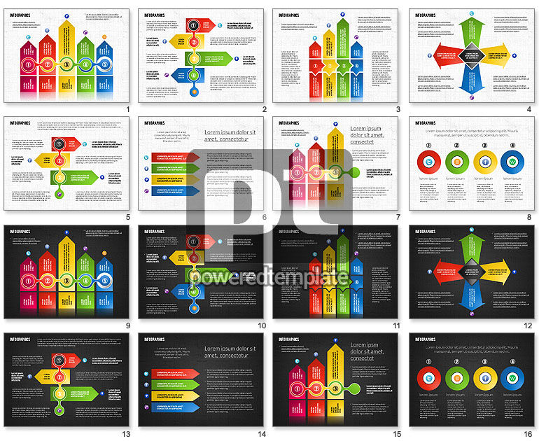 Process Infographics Toolbox