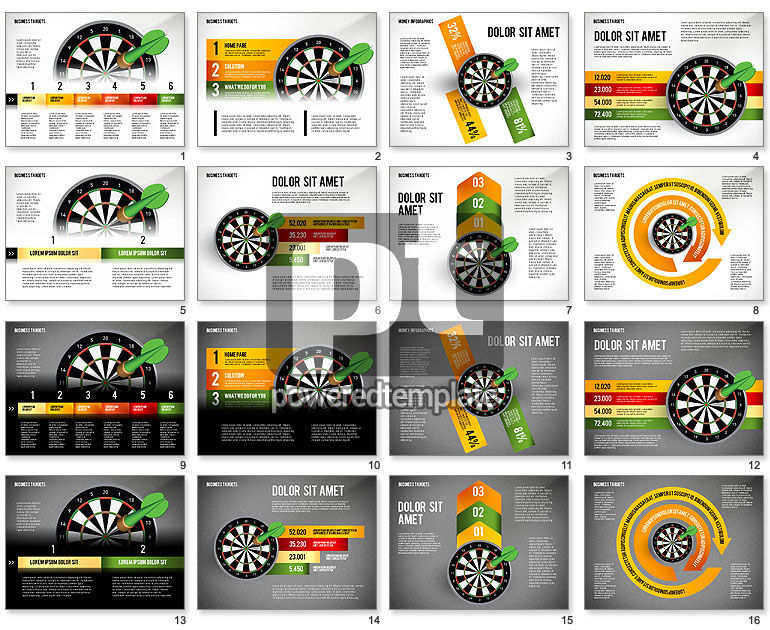 Options with Target Darts
