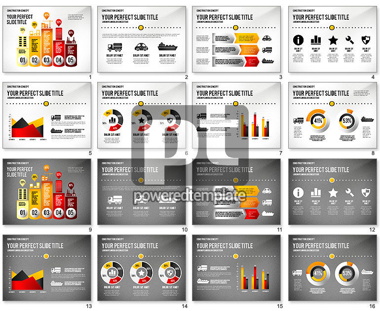 Industry Infographics Presentation Concept