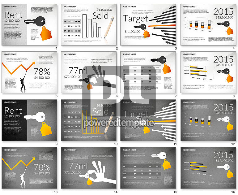 real estate presentation template for powerpoint presentations