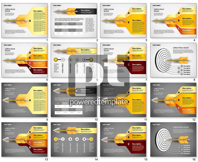 Hitting Target Presentation Concept
