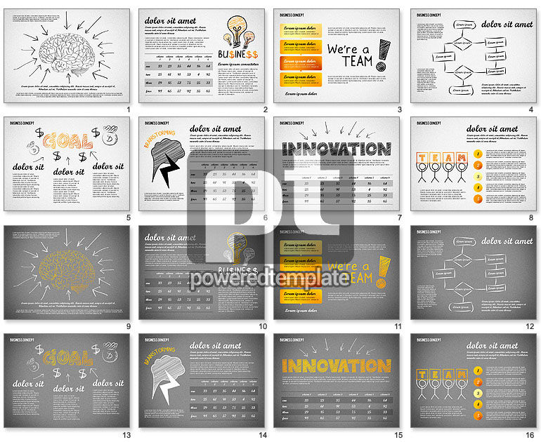 Team Presentation Concept