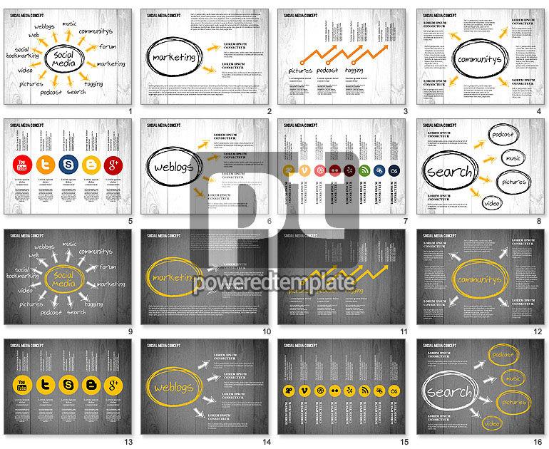 Social Media Strategy Presentation Concept