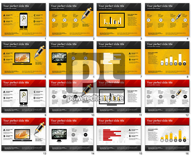 pitch deck presentation template for powerpoint presentations, Presentation templates