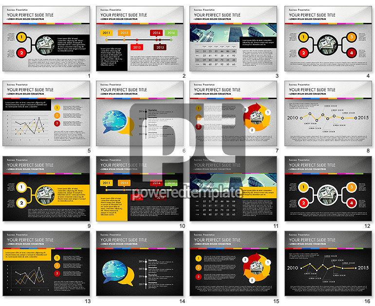Template Presentasi Bisnis Dengan Grafik