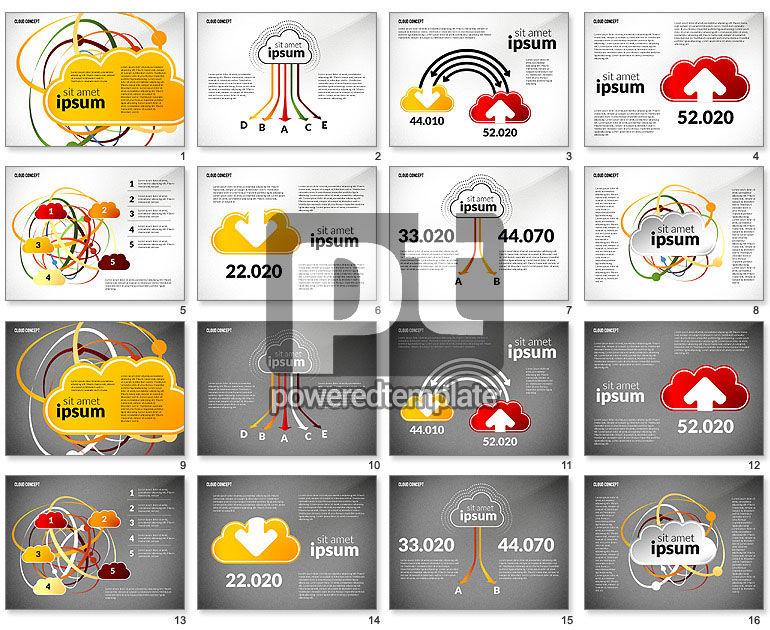 Cloud Services Process Presentation Template