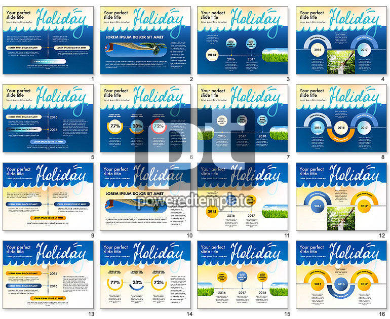 Holiday Concept Presentation Template
