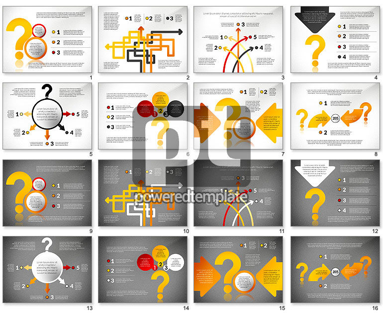 Questions Answers Solutions Presentation Concept